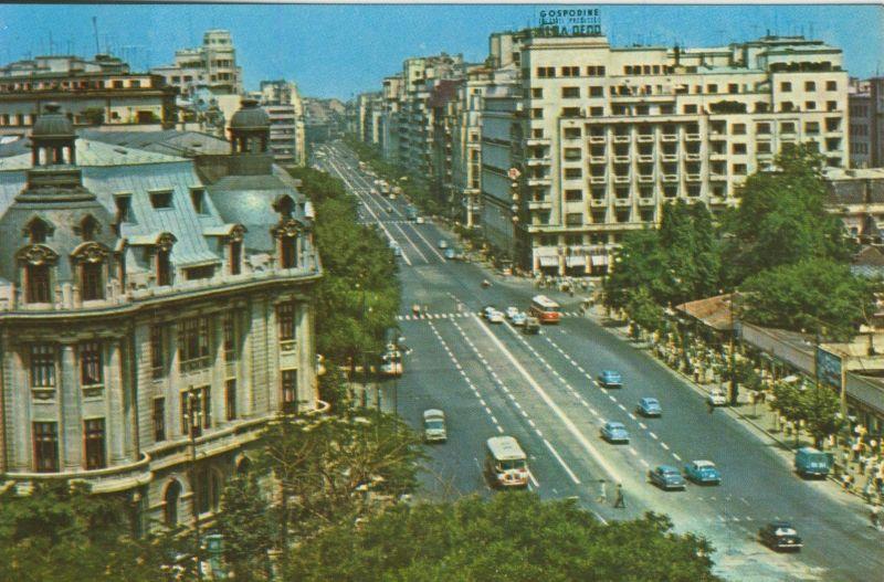 Bucuresti v. 1974  Innenstadt-Ansicht  (55107)
