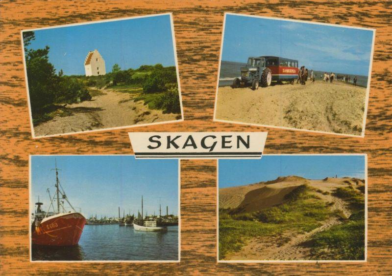 Skagen v. 1976  4 Ansichten  (55112)