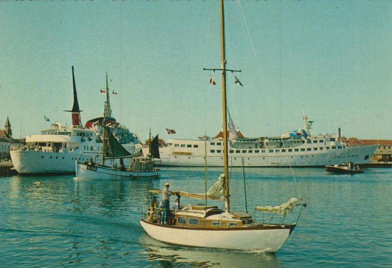 Skagen v. 1976  Partie vom Hafen  (55124)