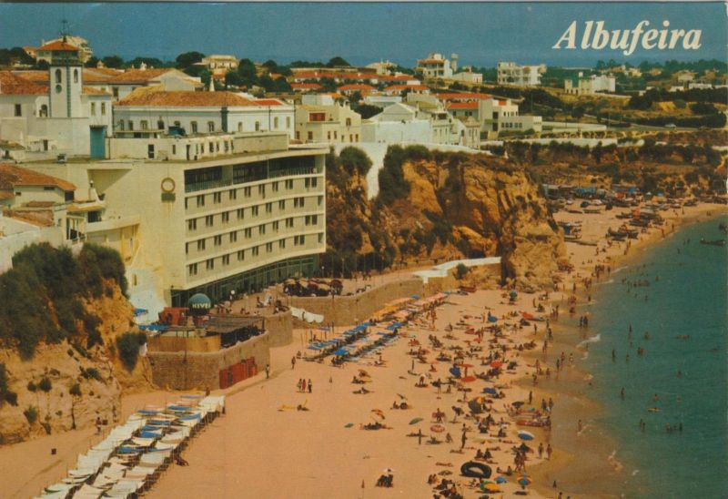Albufeira v. 1979  Hotel`s am Strand  (55125)