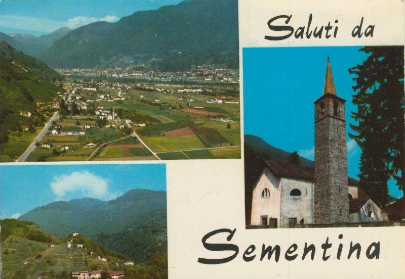 Sementina v. 1974  3 Dorf-Ansichten  (55147)