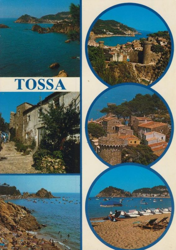 Tossa v. 1978  6 Ansichten  (55154)