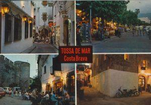 Tossa de Mar v. 1978  6 Ansichten  (55155)