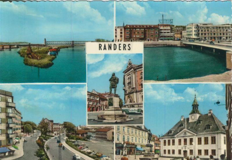 Randers v. 1974  5 Stadt-Ansichten (55170)