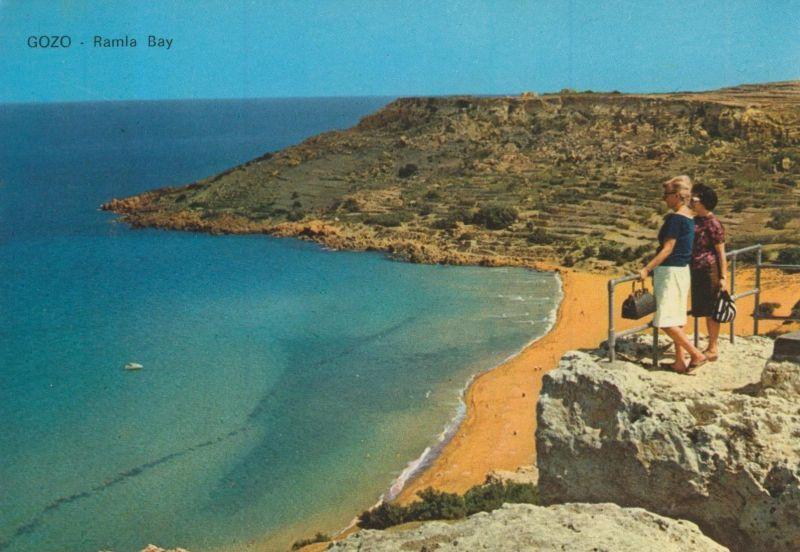 Gozo v. 1976  Ramla Bay  (55173)