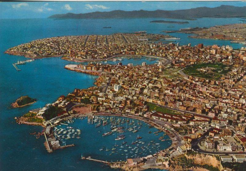 Pireus v. 1976  Luftaufnahme der Stadt  (55187)