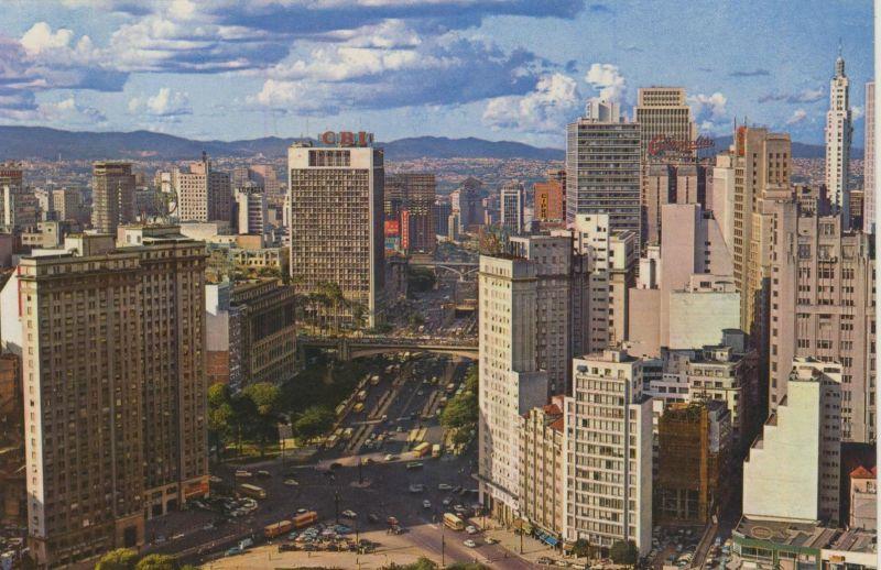 Sao Paulo v. 1968  Teil-Stadt-Ansicht  (55194)