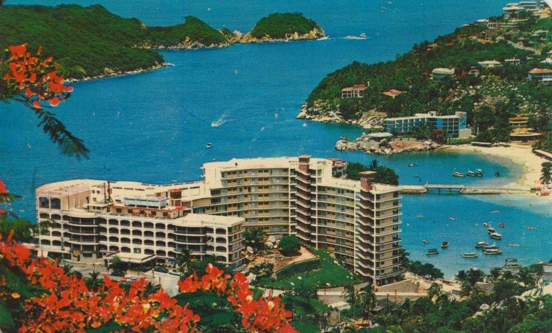 Playas de Caleta y Caletilla v. 1972  Hotel-Anlage  (56644)