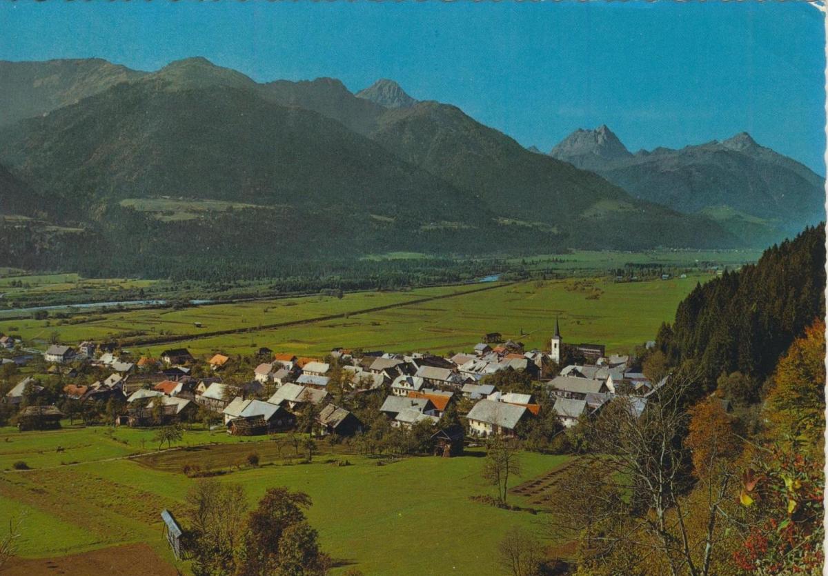 Dellach v. 1968  Luftaufnahme - Dorfansicht  (56837)