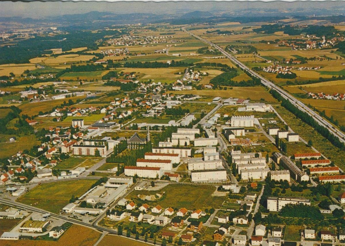 Haid v. 1974  Luftaufnahme - Dorfansicht  (56855)