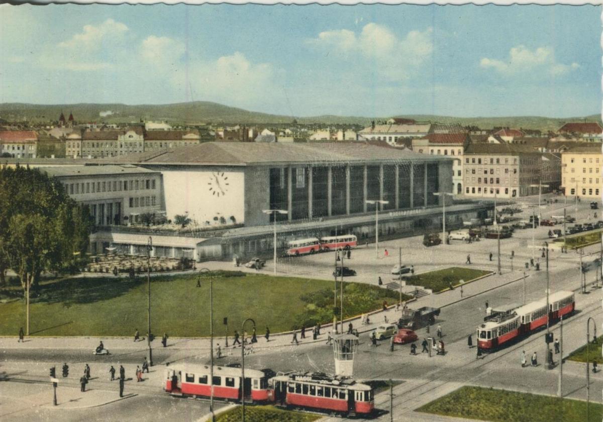 Wien v. 1968  Westbahnhof  (56866)