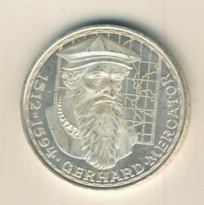 5 Mark DM 1969 F Gerhard Mercator, Silber   (12)