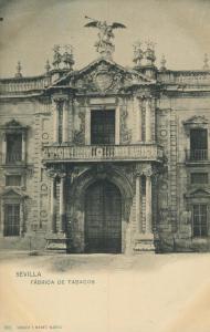 Sevilla v. 1905  Fabrica de Tabacos  (56925)