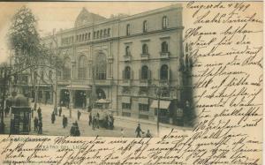 Barcelona v. 1899  Teatro del Liceo  (56927)