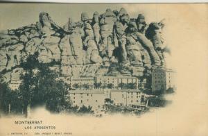 Montserrat / Barcelona v. 1905  Los Aposentos  (56928)