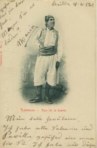 Valencia v. 1902  Tipo de la huerta   (56959)