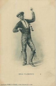 Barcelona v. 1905  Baile Flamenco   (56942)