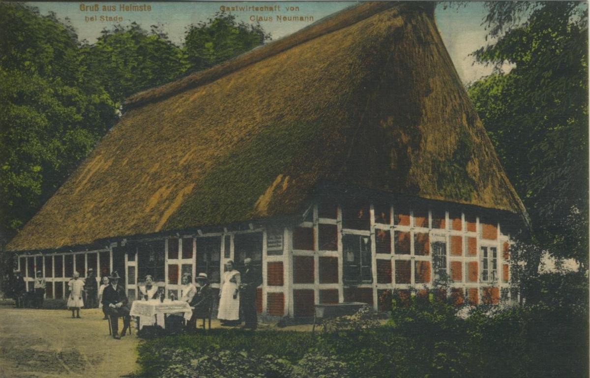 Heimste bei Stade v. 1924  Gastwirtschaft von Claus Neumann  (57224) 0