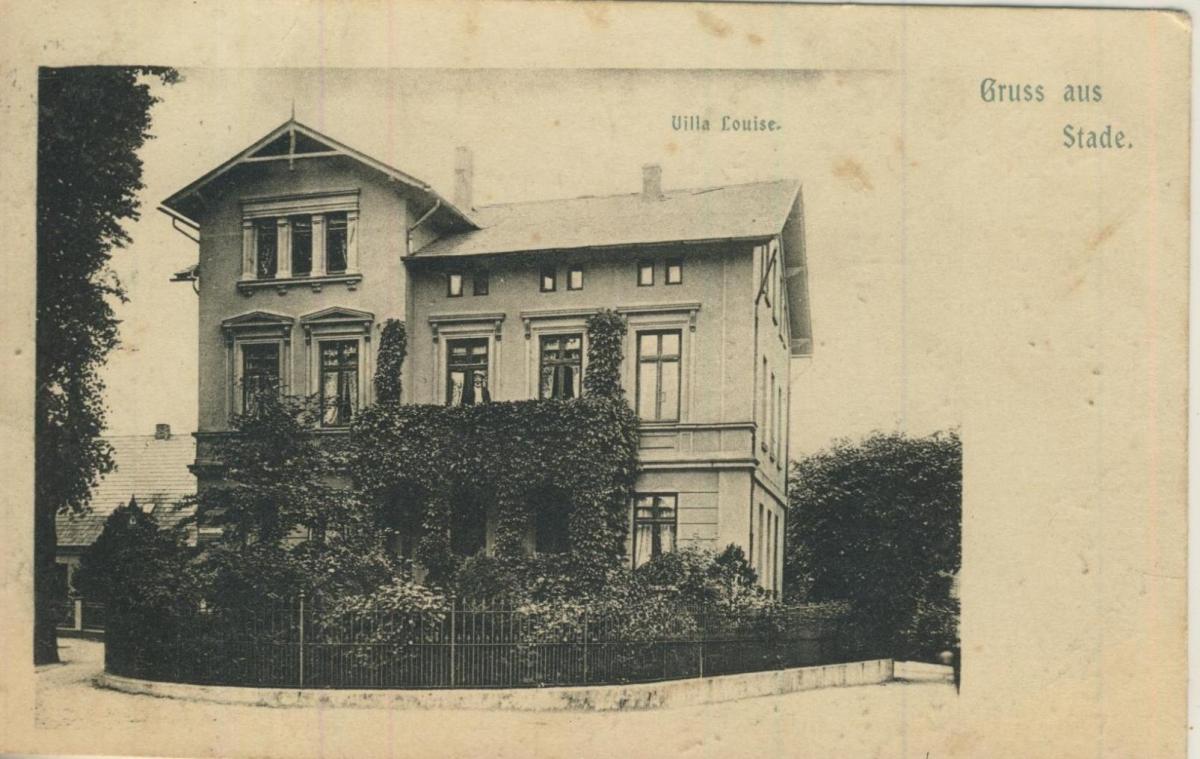Gruss aus Stade v. 1922  Villa Louise  (57226) 0