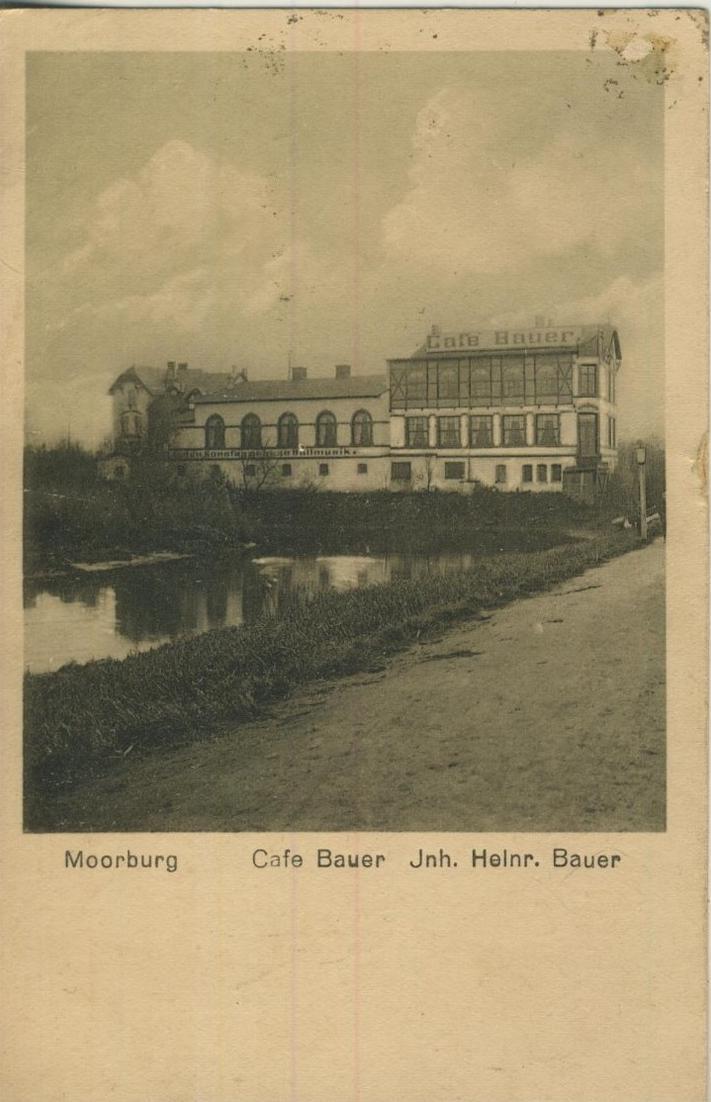 Moorburg v. 1923  Cafe Bauer, Inh. Heinr. Bauer  (57228) 0