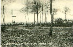 Rouyres Wald v.1917 Deutscher Heldenfriedhof (22937)