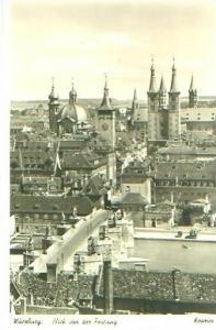 Würzburg v. 1934 Teil-Stadt-Ansicht (22886)