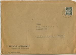 Schönheide v. 1955  Briefumschlag - Deutsche Notenbank  (51138)