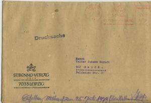 Leipzig v. 1979  Briefumschlag - St. Benno Verlag  (51139)