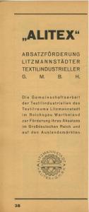 Zeitungs-Werbung v.1955  Alitex-Litzmannstadt,Berko Werke,Heinrich Zeiss,A. Benecke,Ronniger & Pittroff (51160)