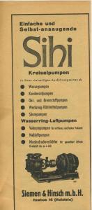 Zeitungs-Werbung v.1941  Siemen & Hirsch-Itzehoe, J. Vögele-Mannheim  (51164)