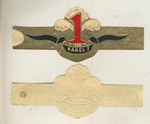 Karel 1 - Zigarrenbauchbinde -  Karel 1 (51731)