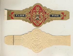 Flor Fina - Zigarrenbauchbinde -  siehe Foto !!  (51732)