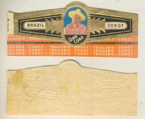 Brasil Corot - Zigarrenbauchbinde - Coro Coro   (51740)
