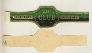 Blauband - Zigarrenbauchbinde - Club  (51742)
