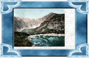 Riesengebirge v.1900.Teich & Schneegrube (12745)