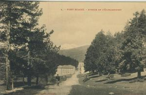 Bourg Madame v. 1926  Avenue de Lètablissement   (52352)