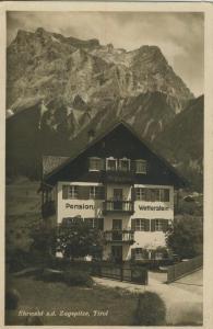 Ehrwald v. 1933  Pensin Wetterstein  (52722)