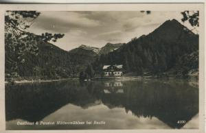 Reutte v. 1935  Gasthaus und Pension Hüttenmühlsee  (52724)