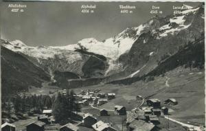 Saa-Fee v. 1965 Dorf-Ansicht  (52760)