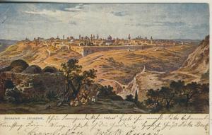 Jerusalem v. 1918  Stadtansicht  (52977)
