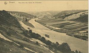 Dinant v. 1918  Vue prise des ruines de Crevecoeur  (52996)