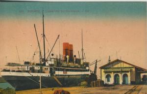 Bizerte v. 1922  L`Arrivee du Courrier  (53010)