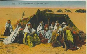 Saudi-Arabien v. 1926  Campement de Nomades au Desert  (53103)