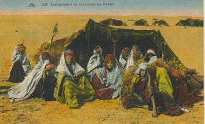 Saudi-Arabien v. 1926  Campement de Nomades au Desert  (53103-1)