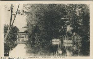 Freteval v. 1955  Les bords du Loir et le Pont  (53143)