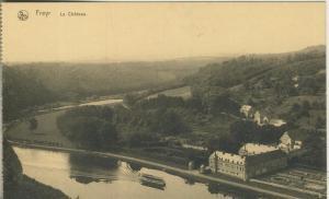 Freyr v. 1916   Fluß,Teil-Dorf,Schloß  (53146)
