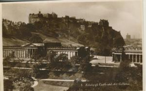 Edinburgh v. 1936  Castle and Art Galleries  (53177)