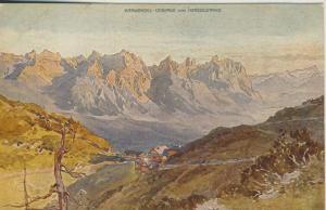 Karwendel-Gebirge v. 1912  Herzogstand Haus  (53316)