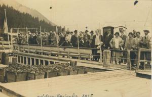 Achensee v. 1925  Personen-Gruppe  (53351)