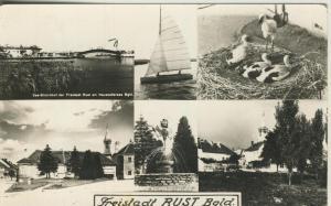 Freistadt Rust v. 1963  4 Ansichten  (53600)